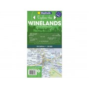 Winelands of the Western Cape Map Studio