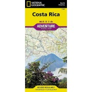 Costa Rica adventure map NGS