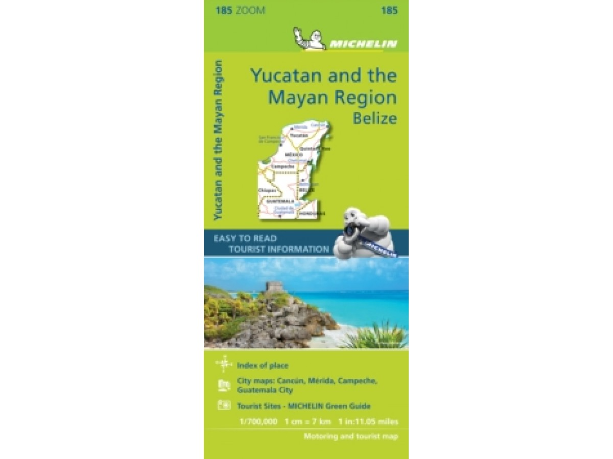 185 Yucatan and the Mayan Region Michelin