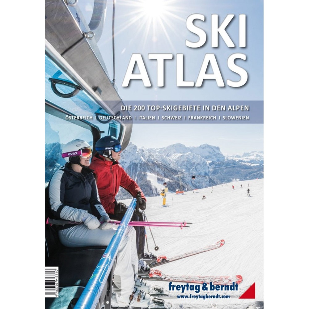 Ski Atlas FB - The 200 best ski resorts of the alps