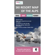 Ski Resort Map of the Alps