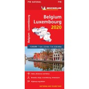 716 Belgien Luxemburg Michelin 2020
