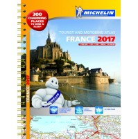Frankrike Atlas A3 Michelin 2017