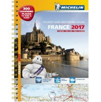 Frankrike Atlas A4 Michelin 2017