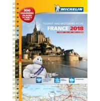 Frankrike Atlas A3 Michelin 2018