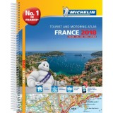 Frankrike Atlas A4 Michelin 2018