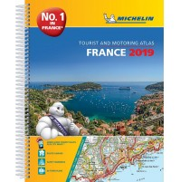 Frankrike Atlas A4 Michelin 2019