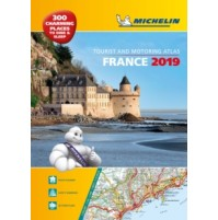 Frankrike Atlas A3 Michelin 2019