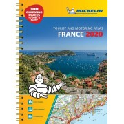 Frankrike Atlas A3 Michelin 2020