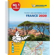 Frankrike Atlas A4 Michelin 2020