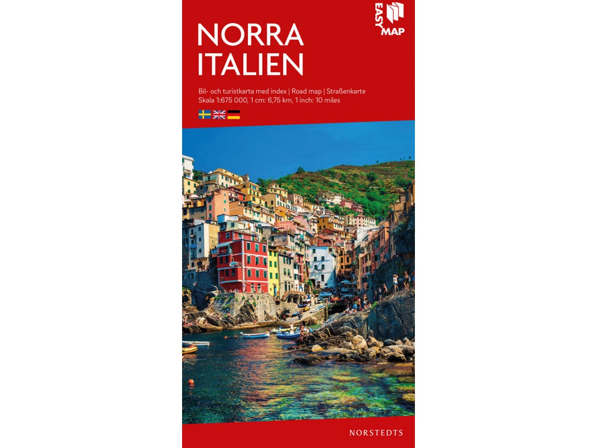Kop Norra Italien Easymap Med Snabb Leverans Kartbutiken Se