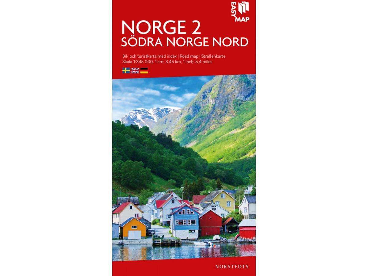 Kop Norge 2 Sodra Norge Nord Easymap Med Snabb Leverans