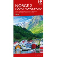 Norge 2. Södra Norge nord EasyMap
