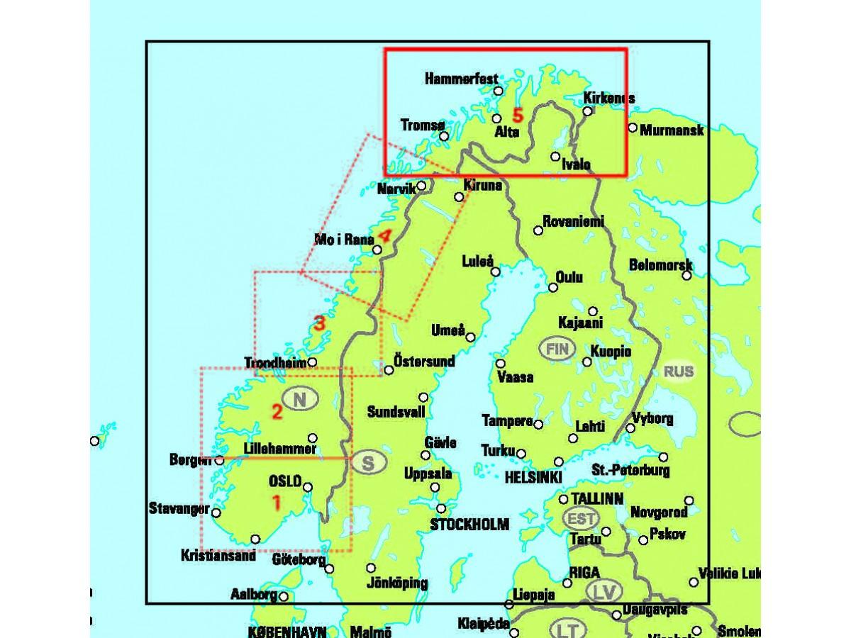 Norra Norge Karta Karta 2020