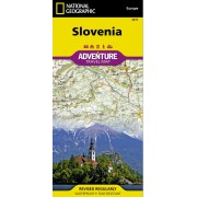 Slovenien Adventure Map National Geographic