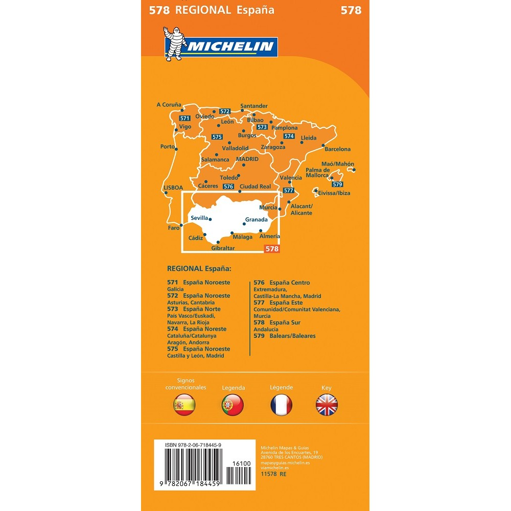 578 Andalusien Michelin