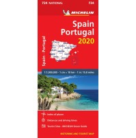 734 Spanien Portugal Michelin 2020
