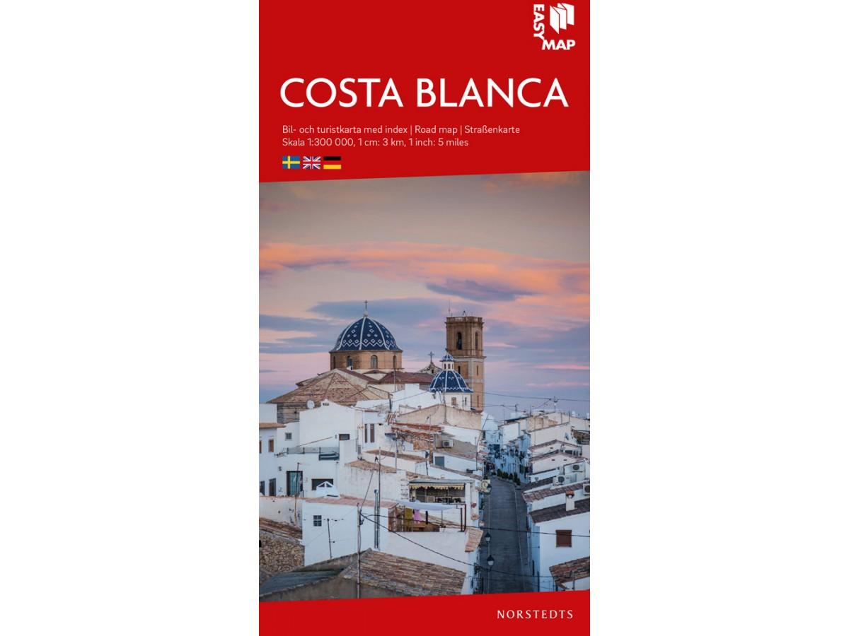 Kop Costa Blanca Easymap Med Snabb Leverans Kartbutiken Se