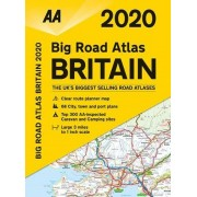 Big Road Atlas Storbritannien AA 2020