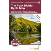 The Peak District Cykelkarta