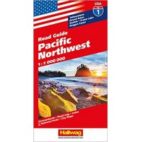 1 USA Hallwag Pacific Northwest
