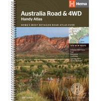Australien Road & 4WD Handy Atlas