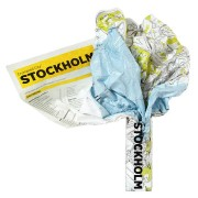 Stockholm Crumpled City Map