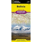 Bolivia Adventure Travel Map NGS
