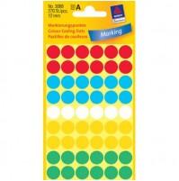 Märketiketter Färgsignaler