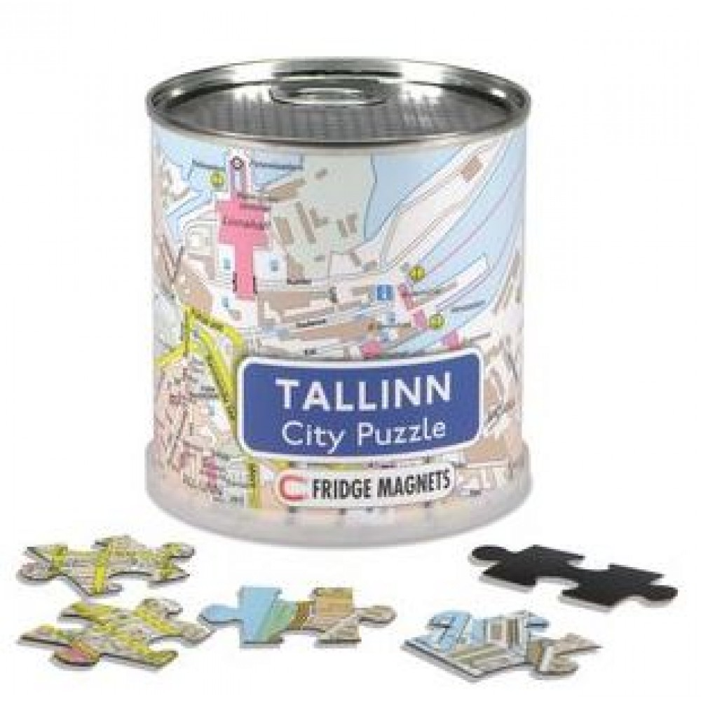 Tallin City Magnetic Puzzle