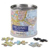 Helsingfors City Magnetic Puzzle