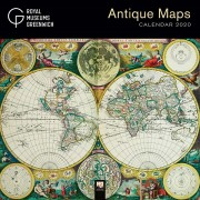 Antique Maps Wall Calender 2020 Kalender
