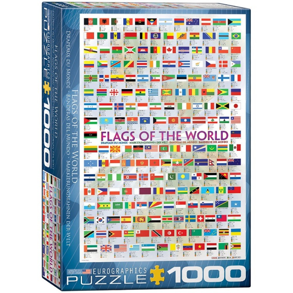 Flags of the World Pussel 1000 bitar