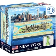 4D Puzzle New York Mini 193 bitar