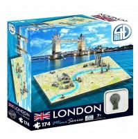 4D Puzzle London Mini 174 bitar