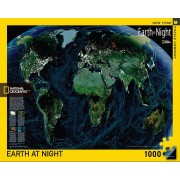Earth at Night NGS Pussel 1000 bitar