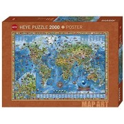 Pussel 2000 bitar Amazing World