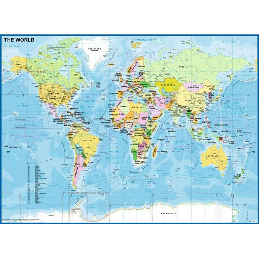 Map of the World Pussel 200 bitar