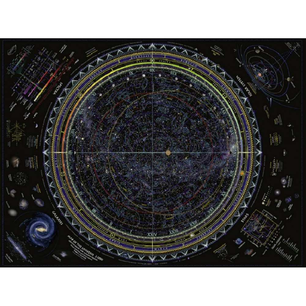 Map of the Universe 1500 bitar