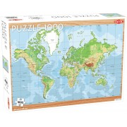 World Map pussel 1000 bitar