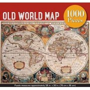 Old World Map pussel 1000 bitar