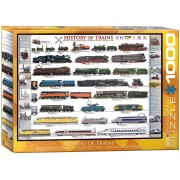 History of Trains Pussel 1000 bitar