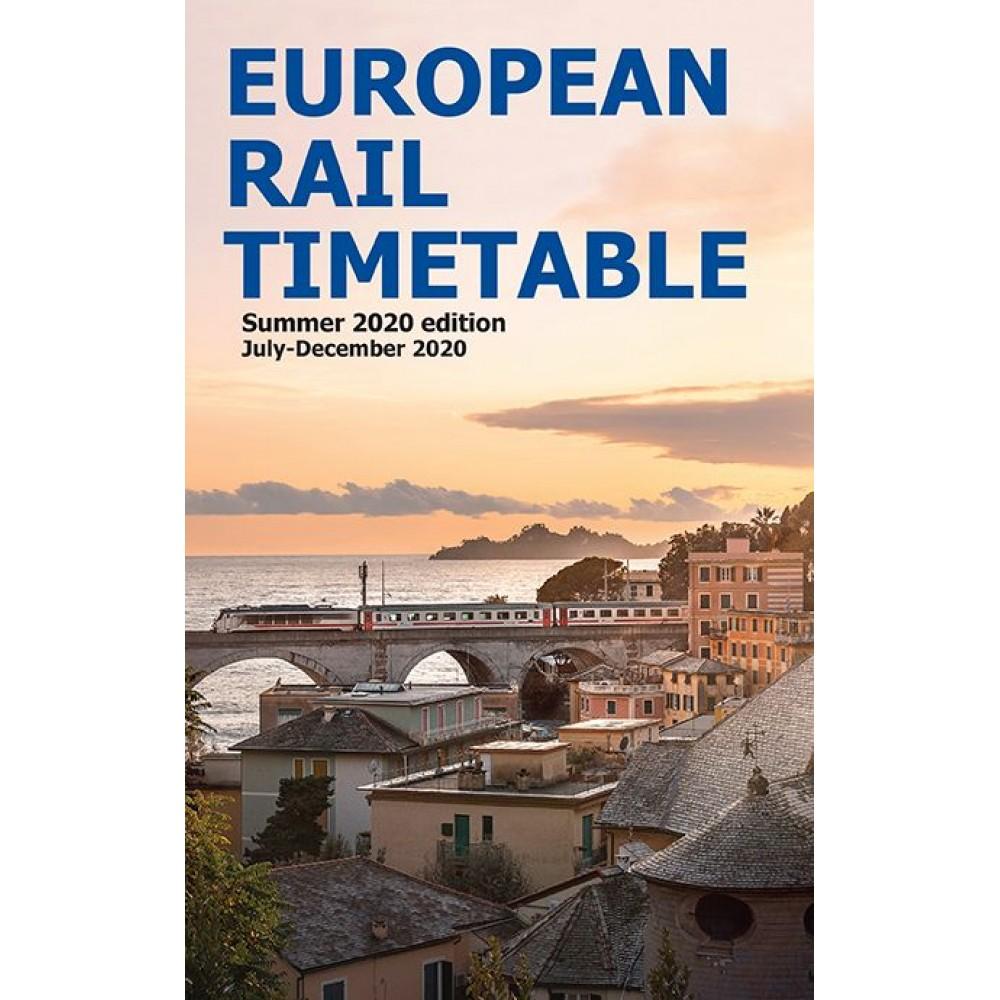 European Rail Timetable Summer 2020 edition