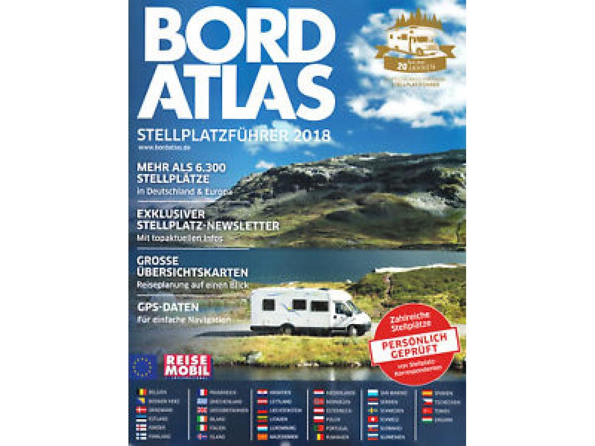 Bordatlas Europa - Deutschland 2018