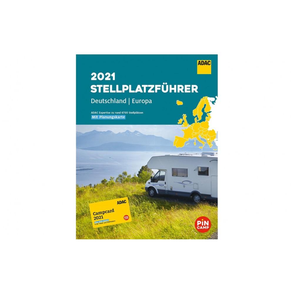 Stellplatzführer Europa 2021 ADAC