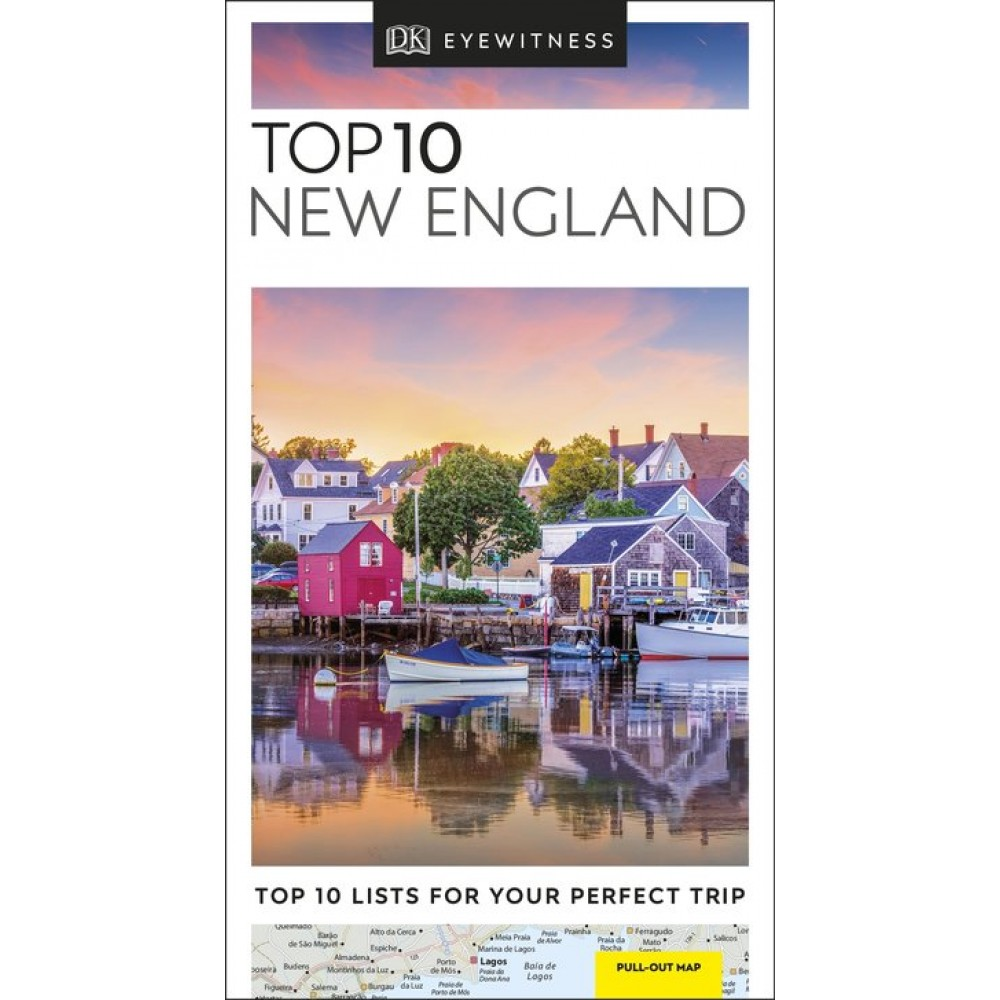 New England Top 10 Eyewitness Travel Guide