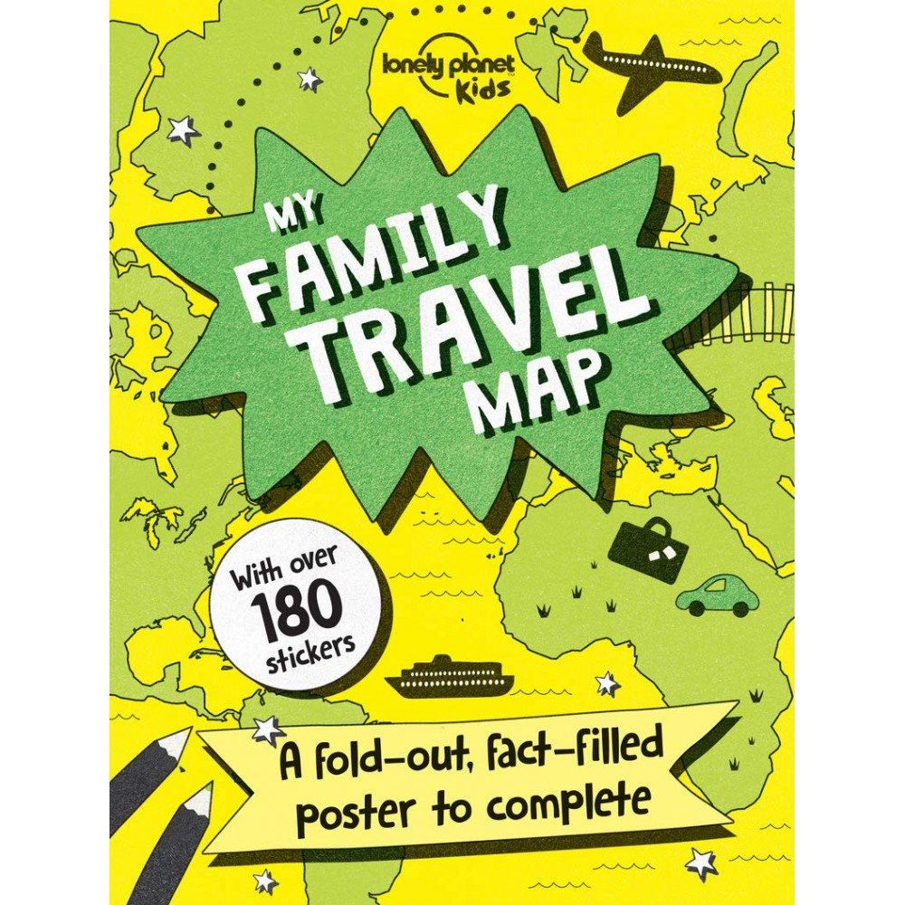 My Family Travel Map Lonely Planet Kids