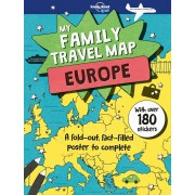 My Family Travel Map Europe Lonely Planet Kids