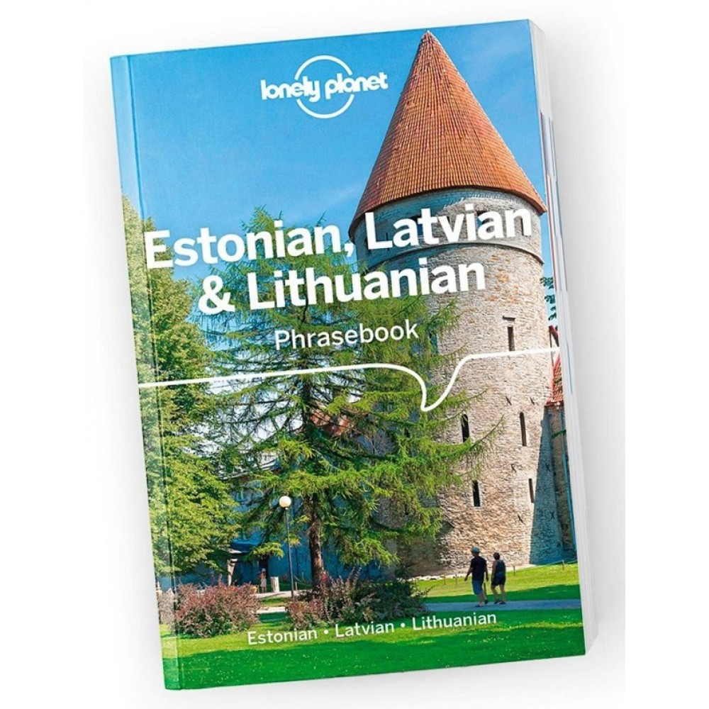 Estonian, Latvian & Lithuanian Phrasebook Lonely Planet