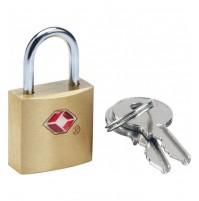 Travel Sentry case lock - Nyckellås i mässing